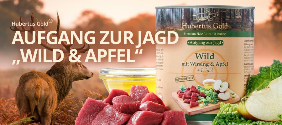 Hubertus Gold Dosen-Menü Aufgang zur Jagd