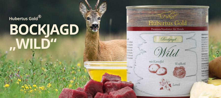 Hubertus Gold Dosen-Menü Bockjagd