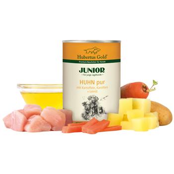 Junior Huhn pur mit Kartoffeln und Karotten