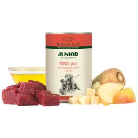 Junior Rind pur mit Pastinaken und Apfel